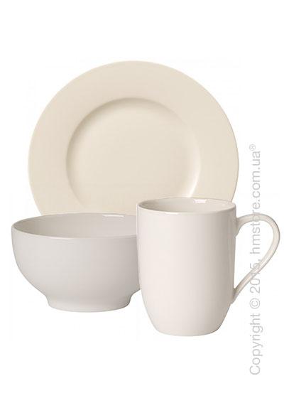 Набор посуды для завтрака Villeroy & Boch коллекция For Me на 2 персоны, 6 предметов