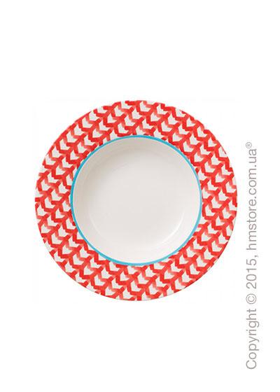 Тарелка столовая глубокая Villeroy & Boch коллекция Lina, Cherry