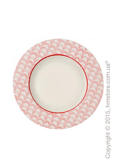 Тарелка столовая глубокая Villeroy & Boch коллекция Lina, Rosy