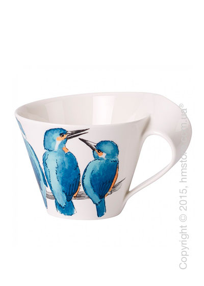 Чашка Villeroy & Boch коллекция New Wave, серия Animals of the World 400 мл, Eisvogel