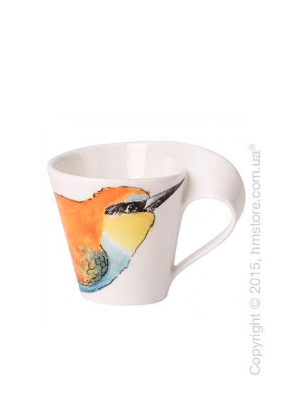 Чашка для эспрессо Villeroy & Boch коллекция New Wave, серия Animals of the World 80 мл, Bienenfresser