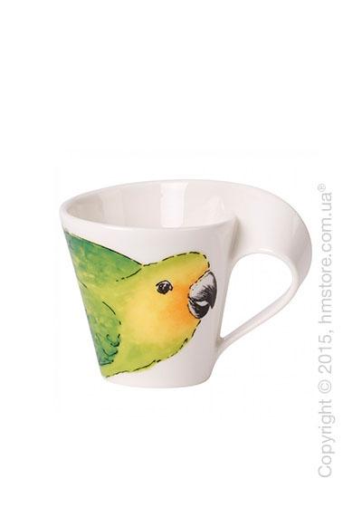 Чашка для эспрессо Villeroy & Boch коллекция New Wave, серия Animals of the World 80 мл, Conure