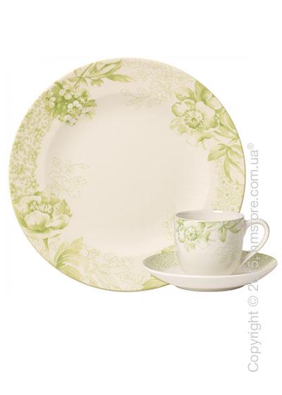 Кофейный сервиз Villeroy & Boch коллекция Floreana на 6 персон, 18 предметов, Green