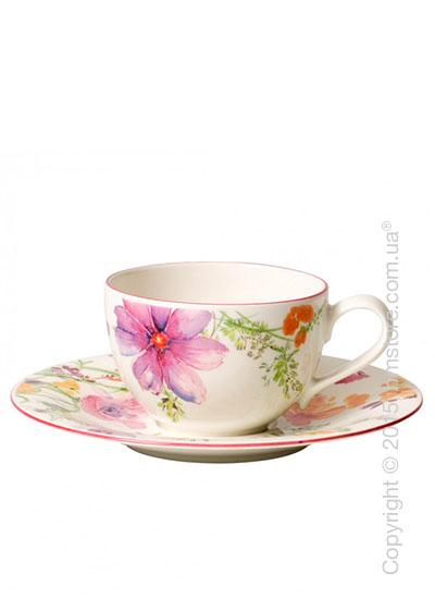 Чашка с блюдцем Villeroy & Boch коллекция Mariefleur Basic 390 мл