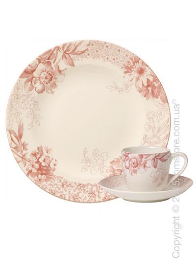 Кофейный сервиз Villeroy & Boch коллекция Floreana на 6 персон, 18 предметов, Red