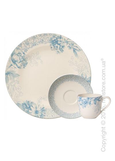 Кофейный сервиз Villeroy & Boch коллекция Floreana на 6 персон, 18 предметов, Blue