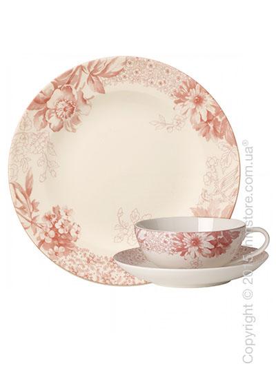 Чайный сервиз Villeroy & Boch коллекция Floreana на 6 персон, 18 предметов, Red
