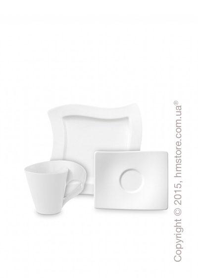 Кофейный сервиз Villeroy & Boch коллекция New Wave на 4 персоны, 12 предметов