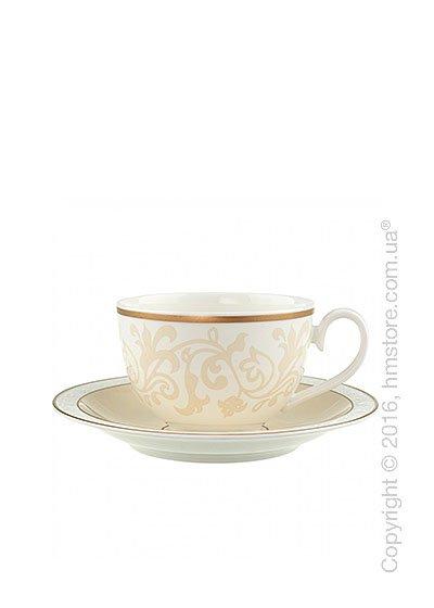 Чашка с блюдцем Villeroy & Boch коллекция Ivoire