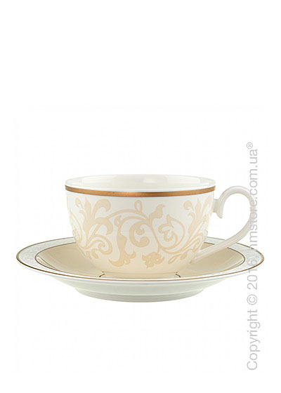Чашка с блюдцем Villeroy & Boch коллекция Ivoire 400 мл