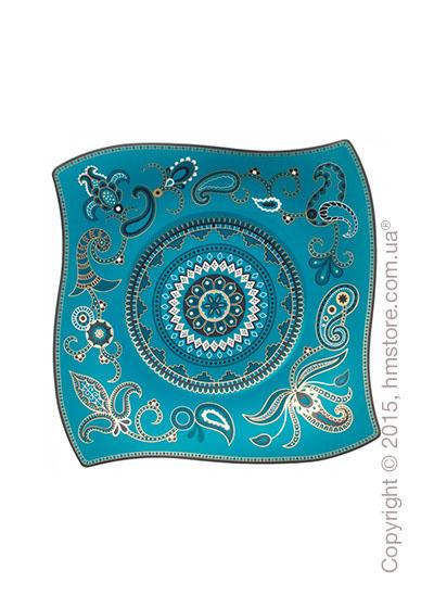 Тарелка мелкая десертная Villeroy & Boch коллекция Samarah, Turquoise