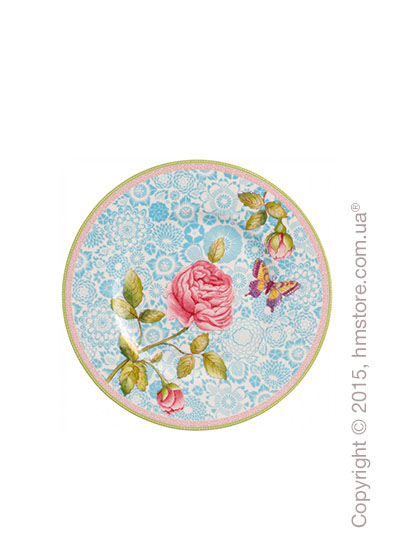 Тарелка десертная мелкая Villeroy & Boch коллекция Rose Cottage, Blue