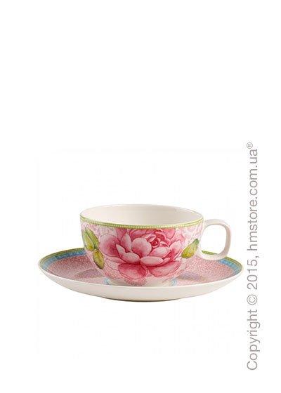 Чашка с блюдцем Villeroy & Boch коллекция Rose Cottage, Pink