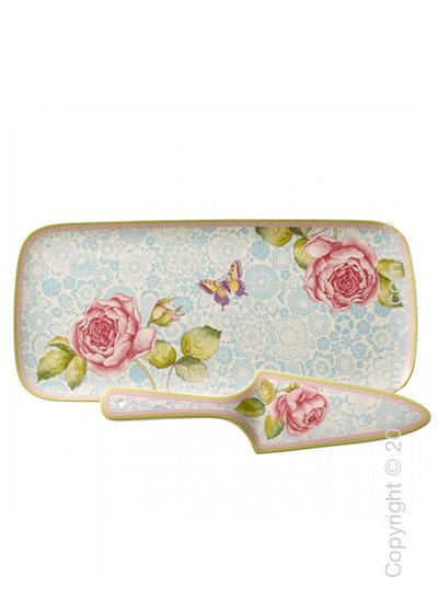 Набор посуды для торта Villeroy & Boch коллекция Rose Cottage