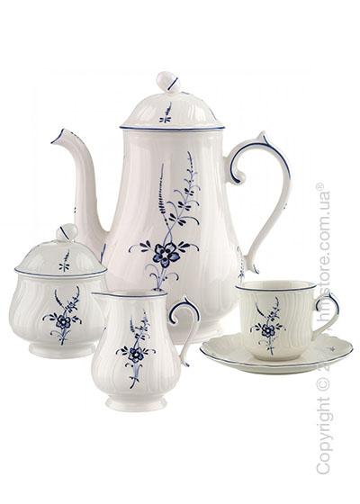 Кофейный сервиз Villeroy & Boch коллекция Alt Luxembourg на 6 персон, 15 предметов