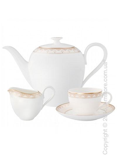 Кофейный сервиз Villeroy & Boch коллекция Samarkand на 6 персон, 15 предметов