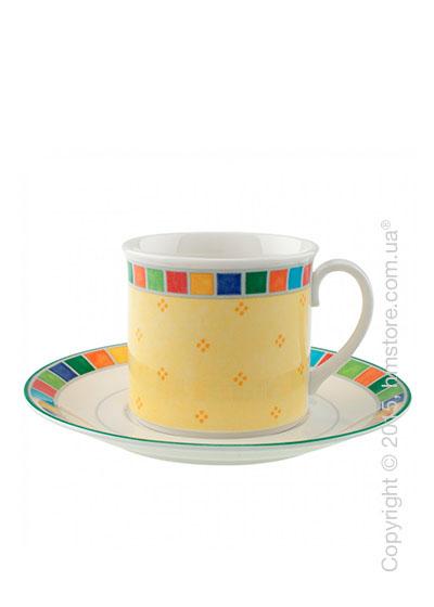 Чашка с блюдцем Villeroy & Boch коллекция Twist Alea 300 мл, Limone