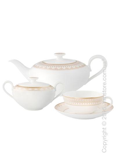 Чайный сервиз Villeroy & Boch коллекция Samarkand на 6 персон, 14 предметов