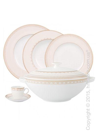 Набор фарфоровой посуды Villeroy & Boch коллекция Samarkand на 6 персон, 48 предметов