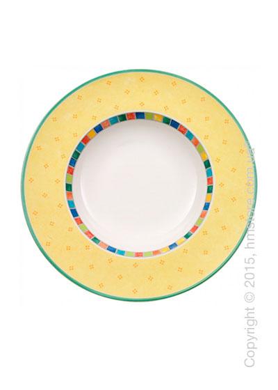 Тарелка для пасты Villeroy & Boch коллекция Twist Alea, Limone