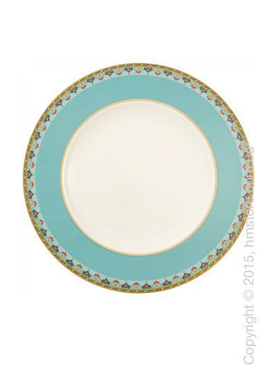 Тарелка столовая мелкая Villeroy & Boch коллекция Samarkand, Aquamarin