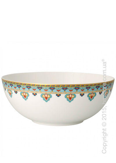 Салатница Villeroy & Boch коллекция Samarkand, Aquamarin