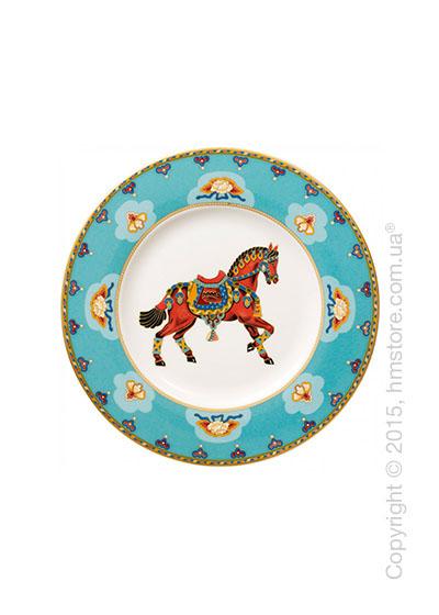 Тарелка десертная мелкая Villeroy & Boch коллекция Samarkand, Aquamarin