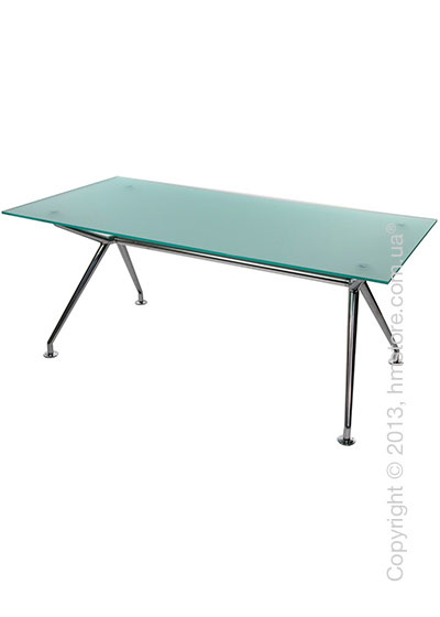 Стол Wagner W-Table 1800х900 мм, Матовое стекло