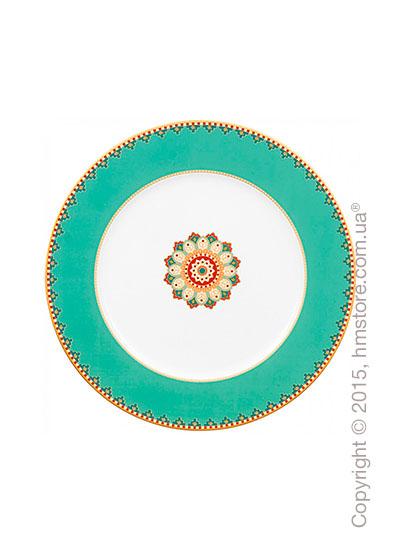 Блюдо для подачи Villeroy & Boch коллекция Samarkand, 30 см, Aquamarin
