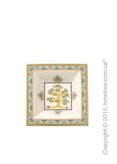 Тарелка Villeroy & Boch коллекция Samarkand, 14 см, Aquamarin