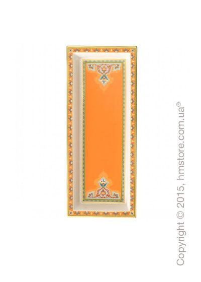 Тарелка Villeroy & Boch коллекция Samarkand, 25x10 см,  Mandarin