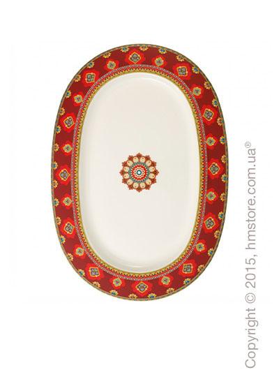 Блюдо для подачи Villeroy & Boch коллекция Samarkand, 41 см, Rubin