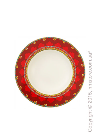 Тарелка столовая глубокая Villeroy & Boch коллекция Samarkand, Rubin