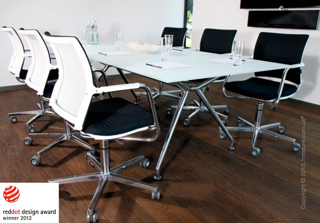 Стол Wagner W-Table 1800х900 мм, Белый ламинат