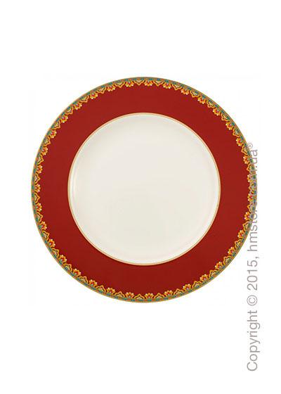 Тарелка столовая мелкая Villeroy & Boch коллекция Samarkand, Rubin