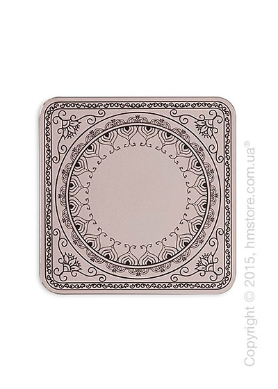 Зеркало Calligaris Damasco S, Screen print matt grey