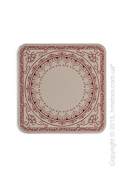 Зеркало Calligaris Damasco S, Screen print matt red