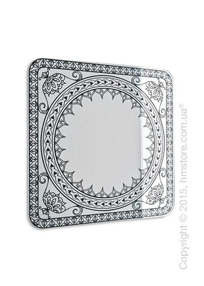 Зеркало Calligaris Damasco M, Screen print matt grey