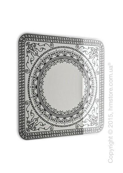 Зеркало Calligaris Damasco L, Screen print matt grey