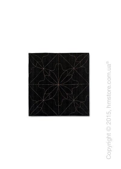 Ковер Calligaris Delight M, Wool black and linen grey