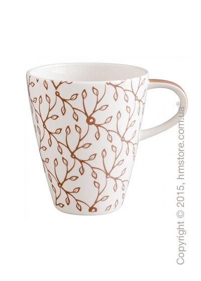 Чашка Villeroy & Boch коллекция Caffè Club Floral 350 мл, Caramel