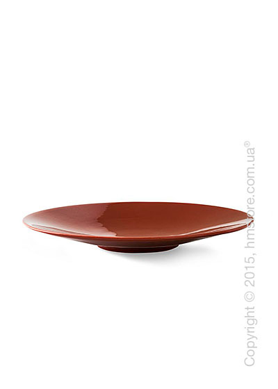 Настольная ваза Calligaris Sunny, Ceramic glossy rust brown