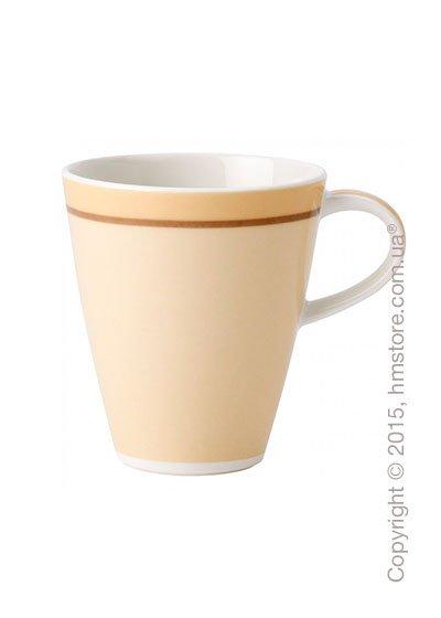 Чашка Villeroy & Boch коллекция Caffè Club Uni 350 мл, Vanille