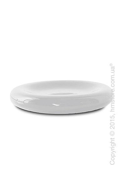 Настольная ваза Calligaris Donut, Ceramic glossy white