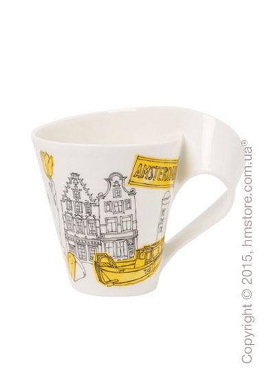 Чашка Villeroy & Boch коллекция New Wave Caffè, серия Cities of the World 350 мл, Amsterdam