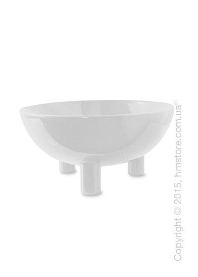 Настольная ваза Calligaris Lift, Ceramic glossy white