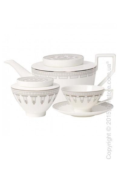 Чайный сервиз Villeroy & Boch коллекция La Classica Contura на 6 персон, 14 предметов