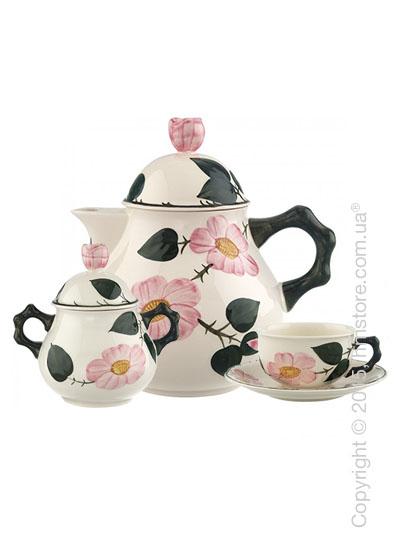 Чайный сервиз  Villeroy & Boch коллекция Wildrose на 6 персон, 14 предметов