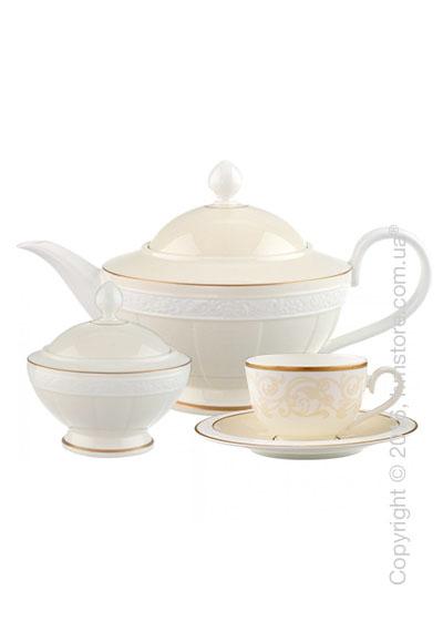 Чайный сервиз Villeroy & Boch коллекция Ivoire на 6 персон, 14 предметов