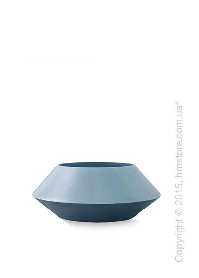 Ваза Calligaris Trio S, Ceramic glossy matt sky blue and pale blue